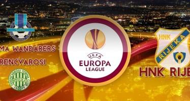 Rijeka čeka pobjednika Sliema Wanderers – Ferencvaros