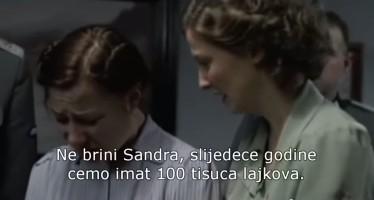 Ne brini Sandra, skoro smo na 100 tisuća lajkova