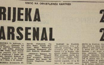 Debi Radakovića i gostovanje Arsenala