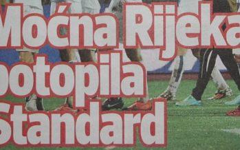 Uraganskom igrom Rijeka pomela Standard