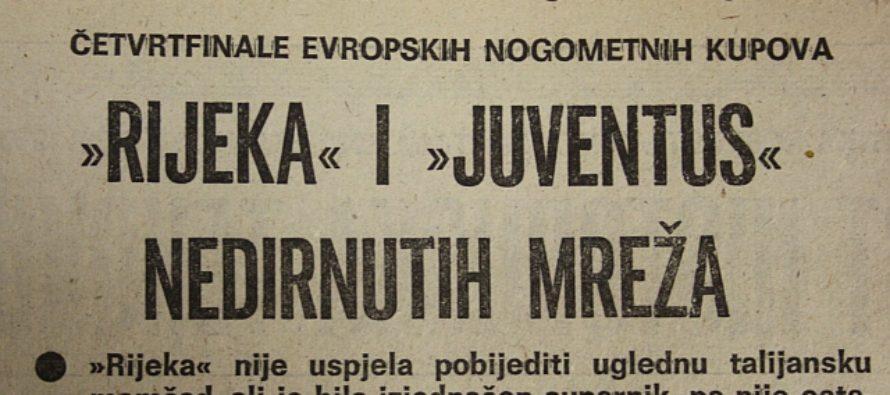 Dan kada je na Kantridi i Juventus igrao bunker
